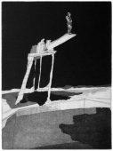 Der Turm, 2011, etching and aquatint, 35 x 26 cm, edition: 10