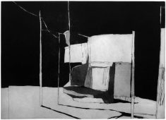 Das Tor, 2013, etching and aquatint, 35 x 50 cm, edition: 5