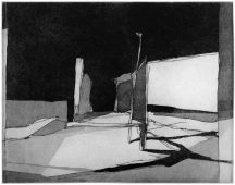 F2, 2014, etching and aquatint, 35 x 45 cm, edition: 5