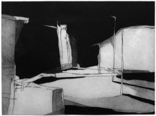 F1, 2014, etching and aquatint, 34 x 45 cm, edition: 5