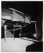HR, 2014, etching and aquatint, 14 x 11 cm, edition: 3