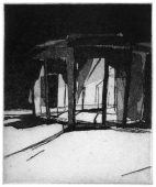H/SG, 2014, etching and aquatint, 13 x 11 cm, edition: 3