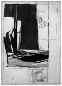 NR-2, 2015, etching and aquatint, 15.5 x 11 cm, edition: 4