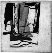 WL-1, 2016, etching and aquatint, 16.5 x 15.5 cm, edition: 5