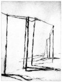 BD-5, 2016, drypoint, 19 x 14 cm, edition: 6