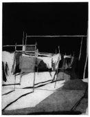 Aufbruch, 2016, etching and aquatint, 30 x 23 cm, edition: 6