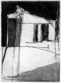 St, 2017, etching and aquatint, 13 x 9 cm, edition: 1 (I)