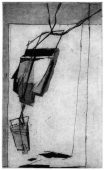 CLF (morales), 2017, etching and aquatint, 19 x 11.5 cm, edition: 7