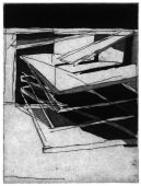 Halt, 2017, etching and aquatint, 15.5 x 12 cm, edition: 4