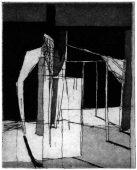 SJ-2, 2017, etching and aquatint, 15.5 x 13 cm, edition: 10