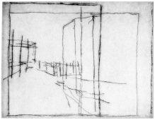 MFR, 2017, drypoint, 15 x 19 cm, edition: 4