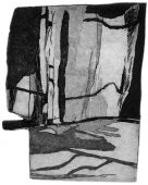 WL-2, 2016/18, etching and aquatint, 14.5 x 11.5 cm, edition: 7 (II)