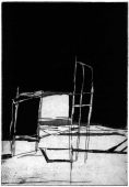 RA, 2017, etching and aquatint, 19 x 13 cm, edition: 5